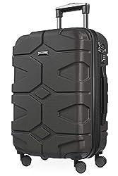 HAUPTSTADTKOFFER, X-Kölln - Handgepäck Hartschalen Reisekoffer, TSA, Koffer, 58 cm, 40.0 L, Graphite