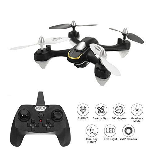 EACHINE E33C RC Quadcopter Drone With 2MP HD Camera 2.4G 6-Axis Headless...