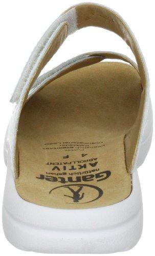 Ganter AKTIV Fabia Weite F 3-202317-01000, Chaussures femme Blanc
