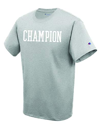 Champion Herren T-Shirt Graphic Jersey - grau - Mittel -