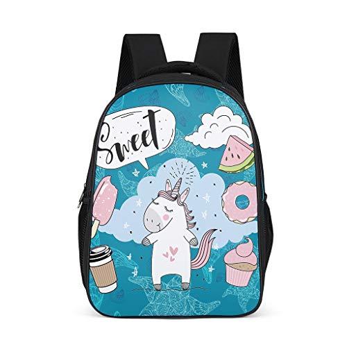 shaoziyun für Rucksack Leichter Schulrucksack Jungen Schultasche Mädchen Daypack Kinder Laptop Rucksack Herren,Starfish Grey OneSize
