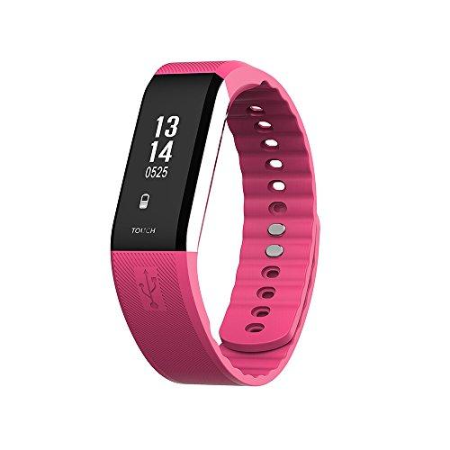Yallylunn U2 Bluetooth 4.0 Led Smart Wrist Watch Bracelet Sport Watches Schlafmonitor SchrittzäHler Wasserdichtes Fitness Tracker Band