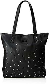0b6404815b24b6 Suchergebnis auf Amazon.de für  schwarze shopper tasche mit nieten