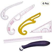 7pcs Nähen Französisch Curve Metric Ruler Maß Schneider Werkzeug für Nähen