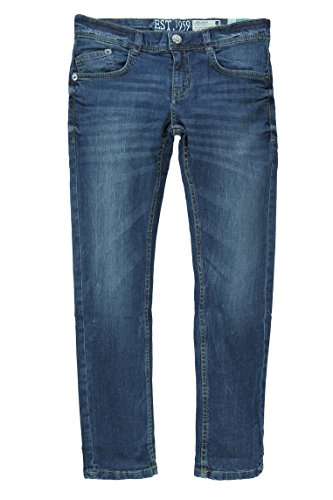 Lemmi Jungen Straight Leg Hose Jeans Regular fit MID, Gr. 152, Blau (blue denim|blue 0013) (Verziert, 5-pocket-jeans)