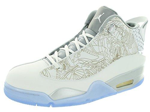 Air Jordan Dub-zéro (laser) White/White/Metallic Silver