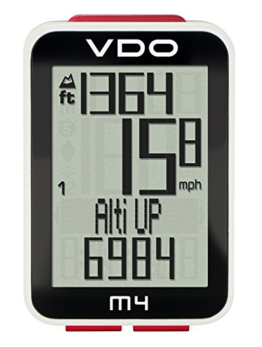 VDO M4 Fahrradcomputer, schwarz