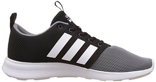 adidas  Cloudfoam Swift Racer, chaussure de sport homme Nero (Negbas/Ftwbla/Gris)