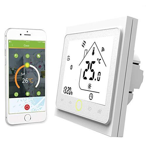Thermostat-boden (NASHONE WiFi Smart Thermostat Raumthermostat Temperatur Controller für Wasser/Elektrische boden Heizung Wasser/Gas Kessel Arbeitet mit Alexa Google Hause)