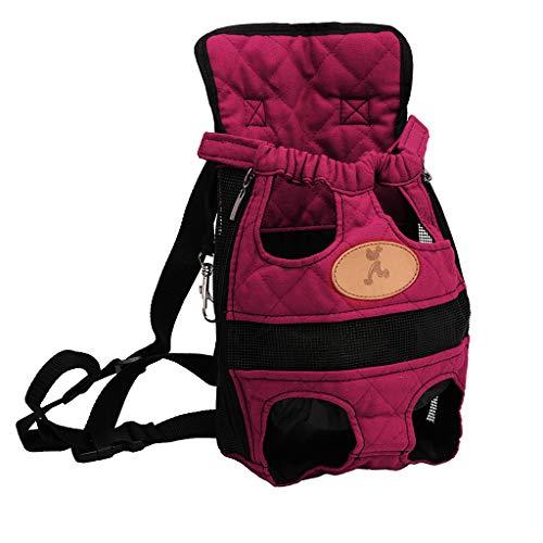 Chaunce Haustier Hund Rucksack Träger Welpen Hunde Tasche Fronttasche Rucksack Reisebeine aus (M) (36 X 24 Hundebox)