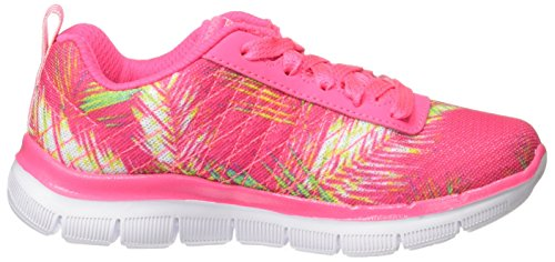 Skechers Appeal 2.0 Tropical Breeze, Sneakers Basses Fille Rose (Hpmt)