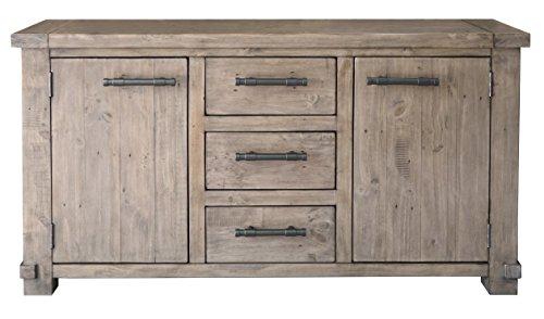 The Wood Times Sideboard Vintage Wohnzimmerschrank Massiv Industrial Kiefernholz, FSC Recycelt, BxHxT 160x85x45 cm - 2