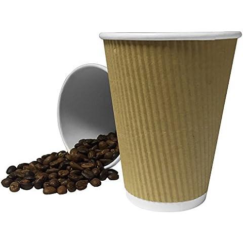 200 x 30 cm, in carta KRAFT, Belgravia a carta crespato da tè e caffè usa e getta, per bevande calde, Tazza per Cappuccino