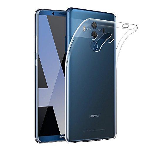 Gosento Huawei Mate 10 Pro Hülle TPU Case, Soft Flex Silikon Crystal Ultra Dünn Clear Schutzhülle Cover für Huawei Mate10 Pro (Transparent) EINWEG