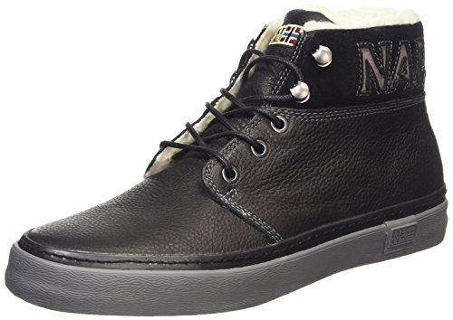 Napapijri Jakob, Sneaker alta uomo, Nero (Schwarz (black N00)), 40