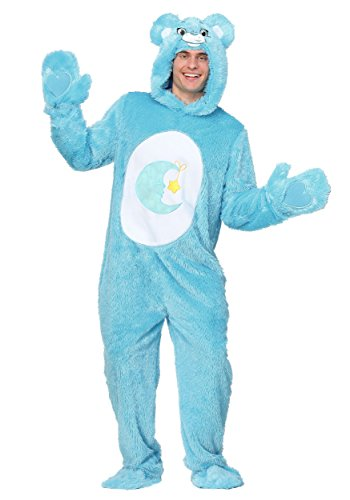 ssic Bed Time Bear Fancy dress costume Medium (Adult Care Bears-kostüm)