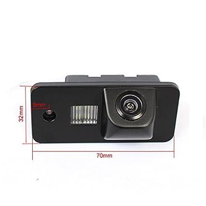 greatek-Kameras-hinten-in-Kennzeichenleuchte-NTSC-schwarz-fr-A1-Q3-A4L-TT-TTS-A5-Q5-A7-R8-A6-RS5-S6-S7-Passat-5d-B7-B8-B9-R36