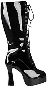 Boland 46362 Kinky Bottes, Bottes Vernis Noir, Taille 38