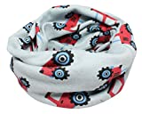 Kids Boys Girls Cotton Multi Use Neck Warmer Scarf Hat Bandana