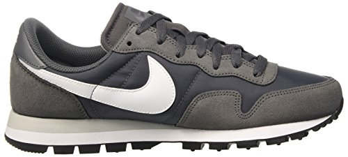 Nike Air Pegasus 83, Chaussures de Running Entrainement Homme Gris (Dark Grey / White-Pure Platinum-White)