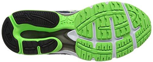 Mizuno Wave Legend 4 - Chaussures de Running Compétition homme Bleu (Dress Blues/silver/green Gecko)