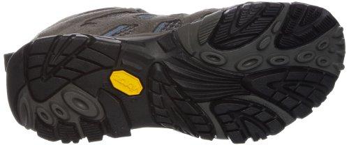Merrell - MOAB MID GTX, Scarpa da Uomo Multicolore (Grey/Periwinkle)