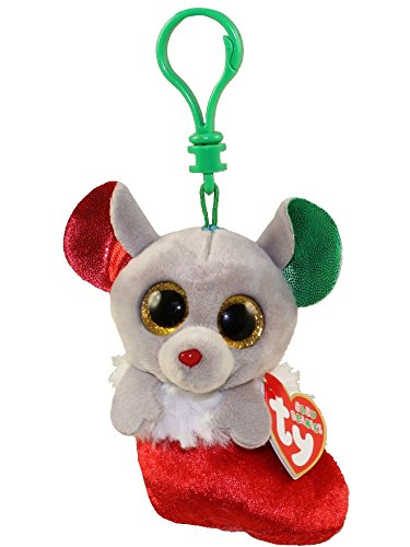 b571c930ec2 TY Holiday Baby - BUNDLES the Mouse (2016) (key clip - 3.5 inch