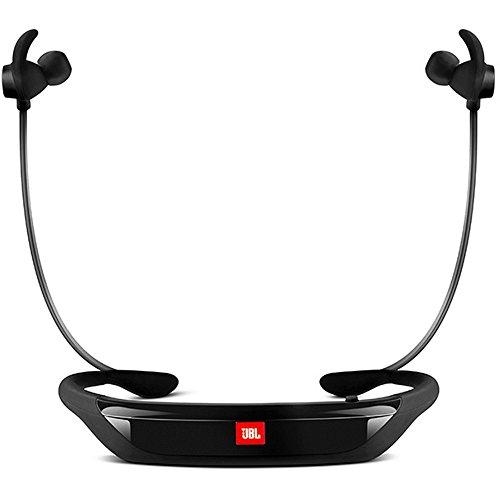 JBL Reflect Response - Auriculares In-ear de contorno de cuello (Bluetooth, micrófono, almohadillas de 3 tamaños) color negro