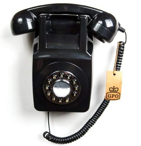 GPO - Teléfono retro con soporte para la pared