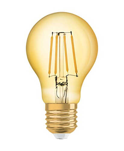 Osram LED Vintage 1906 Lampe, Sockel: E27, Warm White, 2500 K, 8 W,  Glühbirne