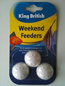 Holiday Fish Food - Weekend Feeders by King British