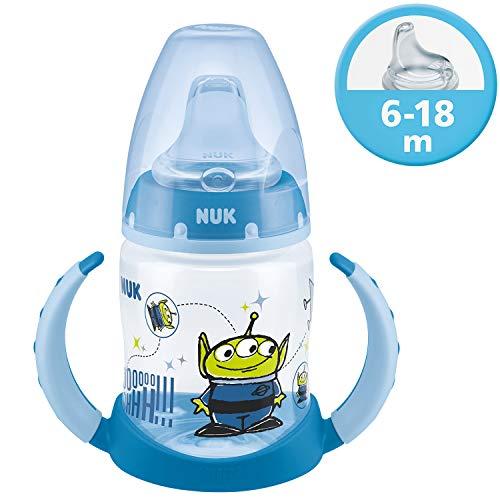 NUK Disney Pixar Toy Story First Choice Learner Bottle Trinklernflasche, 6-18 Monate, 150 ml, Alien