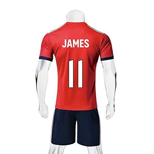 JXYA-Jersey Camiseta fútbol-James Rodríguez-11 -para