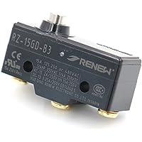 heschen Micro interruptor Z-15GD-B corto Empuje émbolo momentáneo SPDT 3Tornillo Terminal