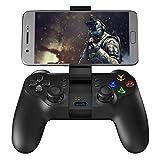 GameSir T1s es compatible con la conexión de Bluetooth 4.0 / 2.4GHz / cable y trabaja bien con Android smartphone / tableta / smart TV / TV Box/ Windows (PC) XP / 7/8/10 / PlayStation 3 / Samsung Gear VR.   Fácil de Conectar:  Dispositivos Android: P...