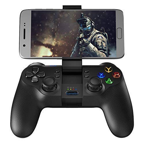 Gamesir T1s - Manette de Jeu 2.4GHz, Manette sans Fil Bluetooth 4.0 pour Android Smartphone, Android Tablette, Windows PC, PS3, Samsung VR etc.