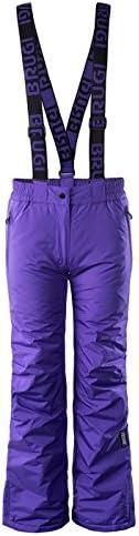 Pantaloni da sci sci sci per   Donna BRUGI 2 AIV   impermeabile Snowboard Pantaloni per piste da sci   Prossoezione Bordi Pantaloni invernali con fodera in pile Colonna d' acqua 5000 mmB0792BR6FHParent | Facile da usare  | Good Design  | Facile Da Pulire Surfac 6ee566