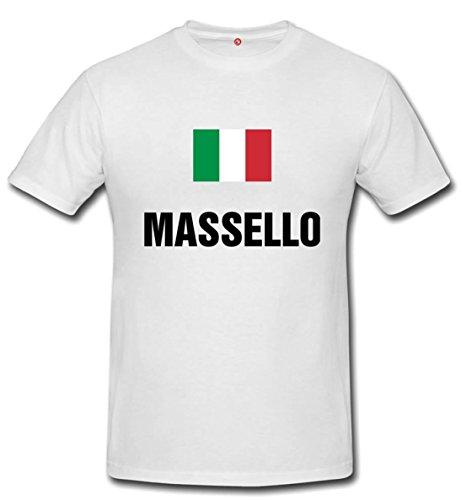 T-shirt Massello bianco