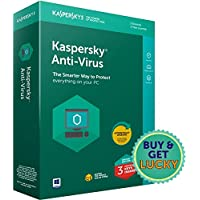 Kaspersky Antivirus Latest Version - 3 Users, 1 Year (3 Individual keys, 1 CD) (Special Edition)