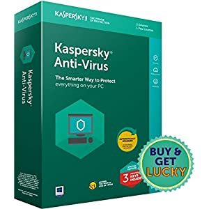 Kaspersky Antivirus Latest Version – 3 Users, 1 Year (3 Individual keys, 1 CD) (Special Edition)