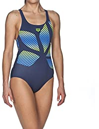 ares5Femme Arena Sport Spider Placed Maillot de bain