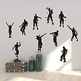 Vercico Personnage Action Doodle Autocollant PVC Sticker Autocollant Mural