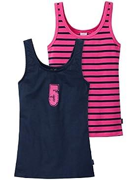 Schiesser Mädchen Unterhemd 2pac