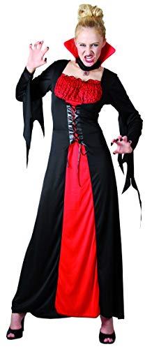 EUROCARNAVALES Verkleidung Vampir Rot - Mujer, XL, Halloween