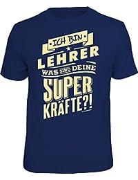 Original RAHMENLOS® T-Shirt: ich bin Lehrer - was sind deine Superkräfte?