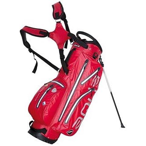 Aqua BigMax iDry Bolsa para palos de Golf rojo rojo