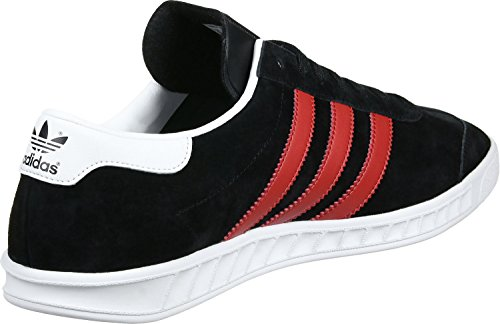 adidas Hamburg, Chaussures de Tennis Homme core black-red-footwear white (BB5300)