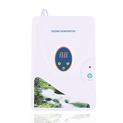 Maschine Entgiftung Ozon-Generator Ozon Ionisator für Obst Gemüse Fleisch Verwendung zuhause Küche mit Digital Timer 1–30Minuten socialme-eu