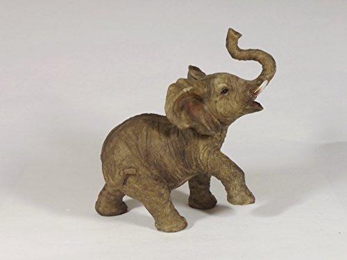 Klp Elefant Elefanten Deko Artikel Garten Wild Tier Figur Skulptur Afrika Statue -