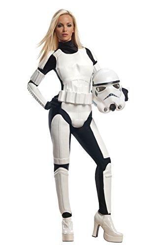 Damen Star Wars Stormtrooper, Erwachsenen-Kostüm–XS (Stormtrooper-kleid)